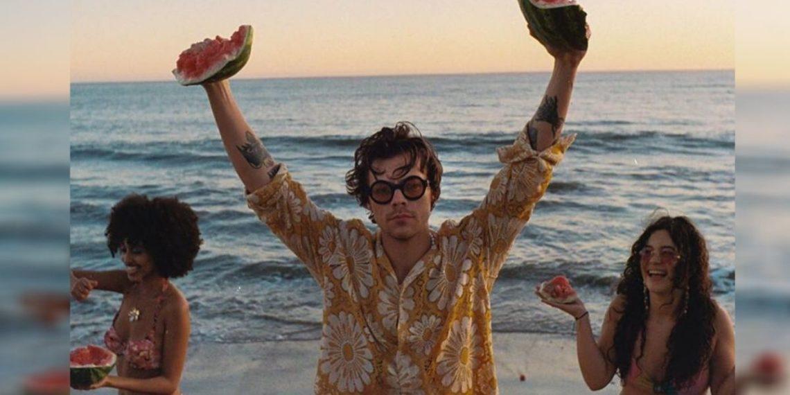 Harry Styles estrena el video de su canción 'Watermelon Sugar'