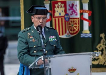 jefe de la Guardia Civil de Madrid