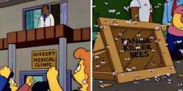 Los Simpson coronavirus avispones asesinos