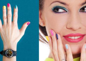 manicure de colores