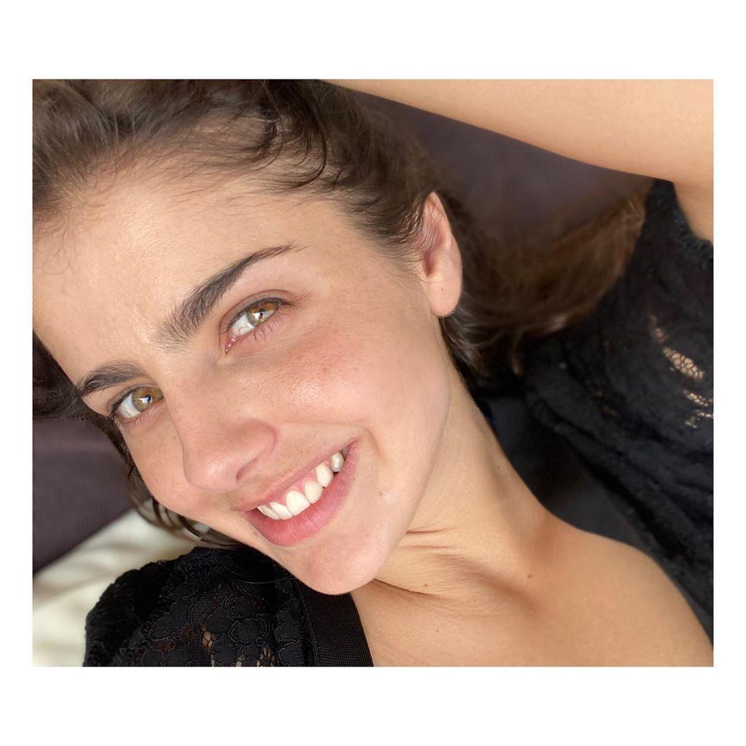Michelle Renaud sin maquillaje