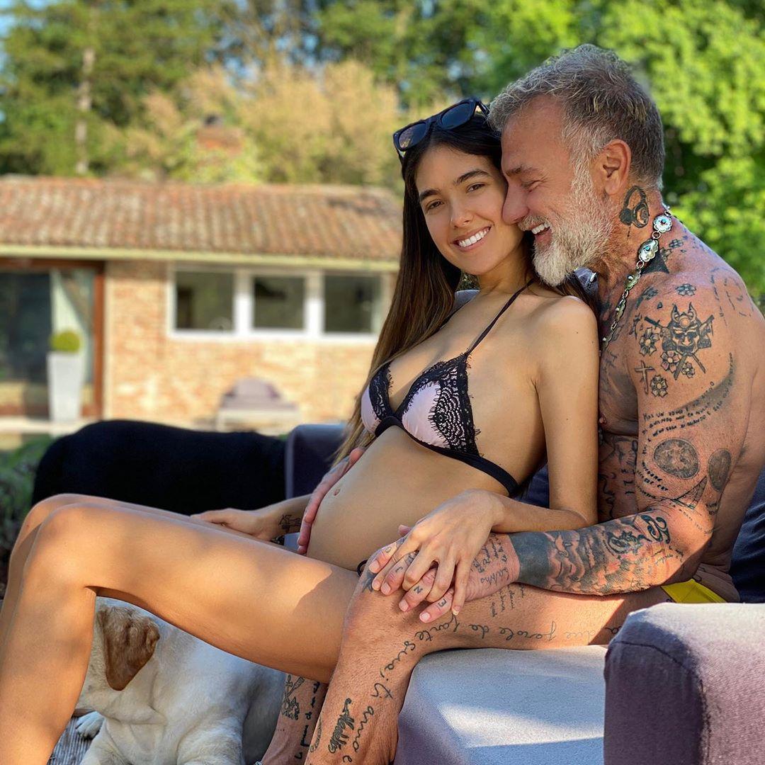 novia de Gianluca Vacchi embarazada