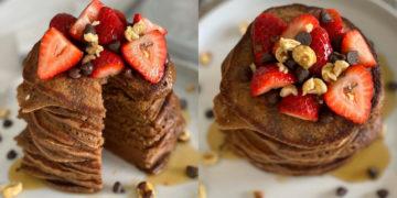 panqueques de cacao
