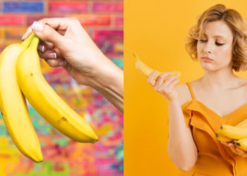Plátano maduro. Foto: Freepik