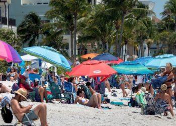 basura en Playas de Florida