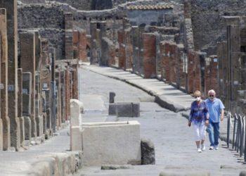 Pareja Pompeya