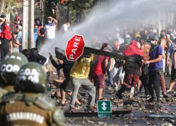 Protestas Chile coornavirus