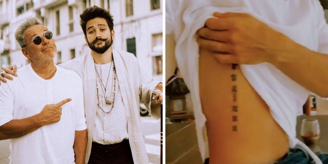 Ricardo Montaner sobre el tatuaje de Camilo