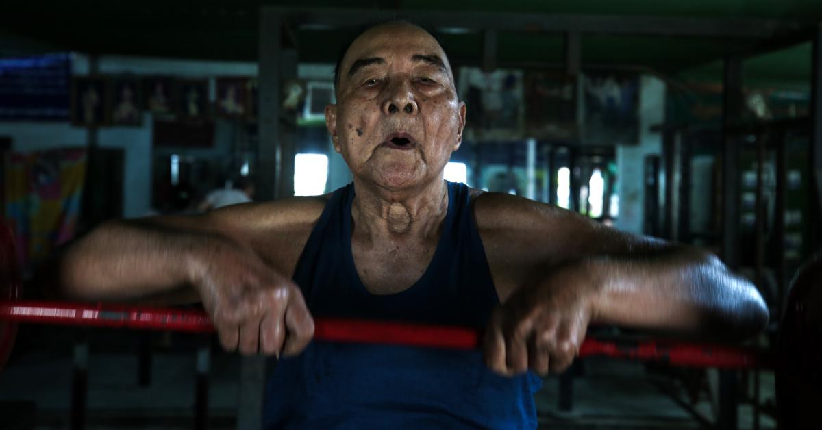 Sein Maung se ejercita sin importar su edad
