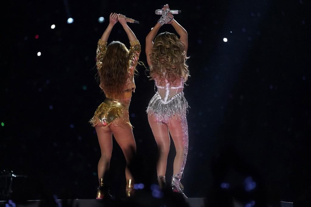 JLo y Shakira Super Bowl