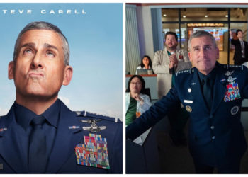 Steve Carell en 'Space Force'. Foto: Instagram/ spaceforce