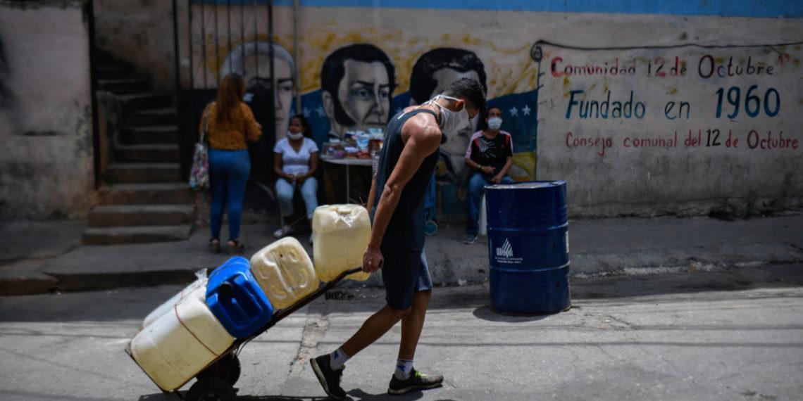 Venezolanos desplazados