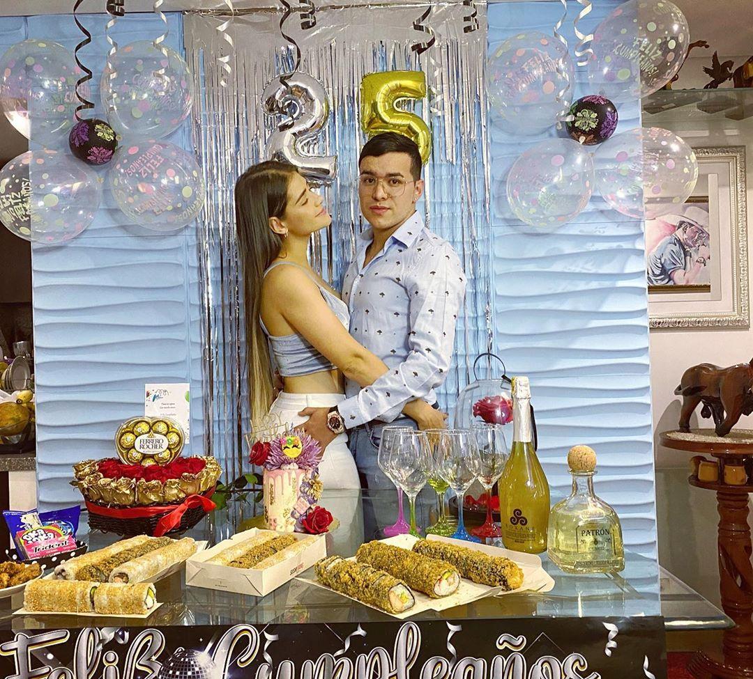 Yeison Jiménez y su esposa Sonia