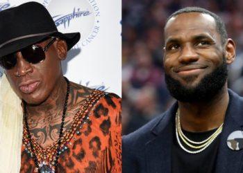 """Dennis Rodman dice que en su época Lebron James habría sido un """"jugador del montón"""""""