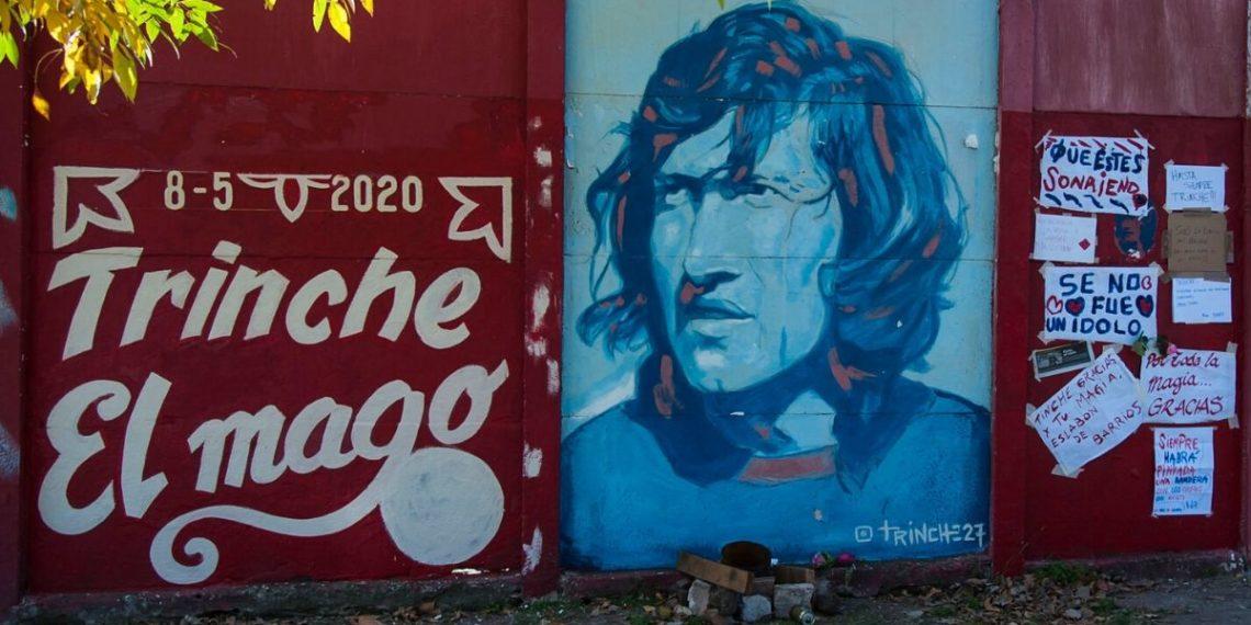 Con emotivo velorio, el fútbol le dijo adiós a la leyenda argentina Trinche Carlovich