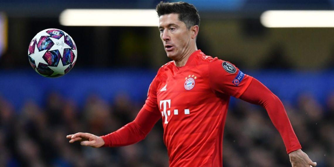 Robert Lewandowski escoge a los cinco mejores delanteros del mundo