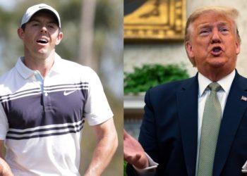 McIlroy vs. Trump: el mejor del mundo no quiere volver a jugar golf con el presidente