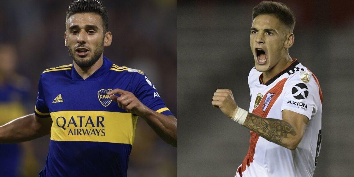 Futbolistas de Boca Juniors y River Plate donan camisetas para hacer tapabocas