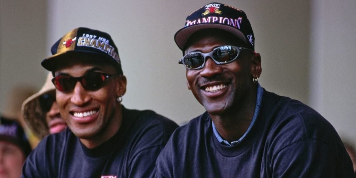 Incluso Scottie Pippen terminó molesto con el documental The Last Dance