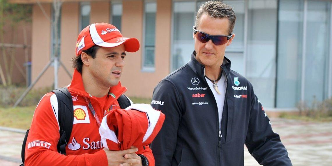 «Su situación no es fácil»: dice Felipe Massa sobre salud de Michael Schumacher