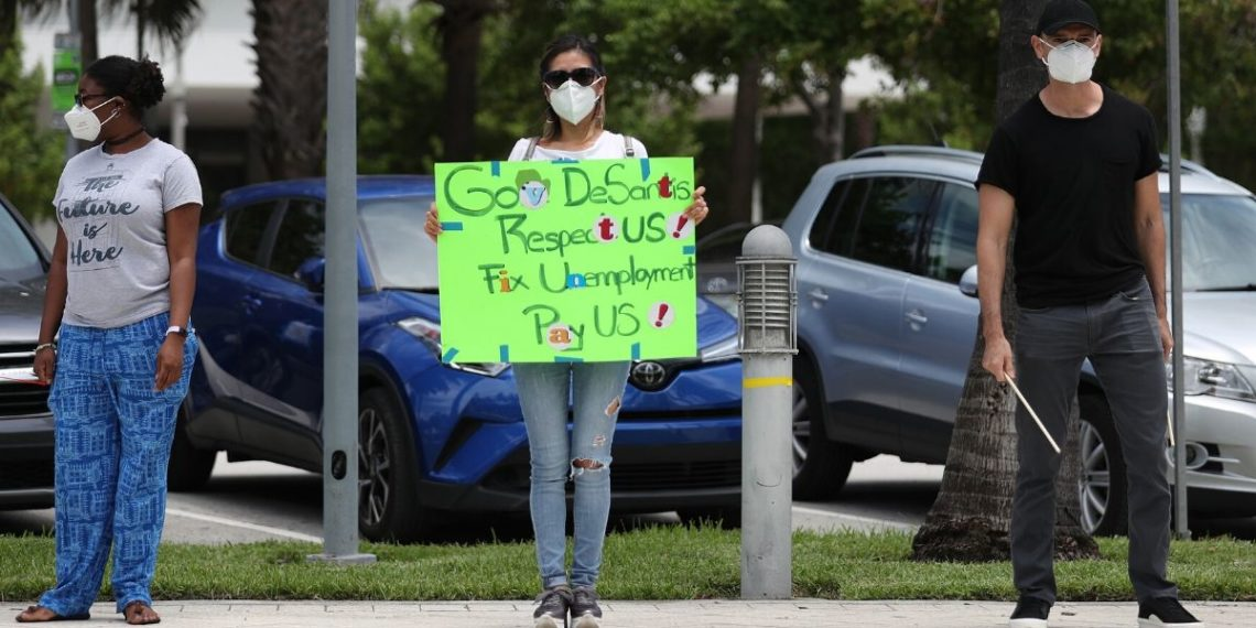 Sector privado en Estados Unidos perdió 2,7 millones de empleos en mayo por la pandemia del coronavirus