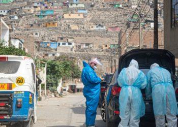 El avance del coronavirus en Perú estaría registrando una desaceleración, según el ministro de Salud de ese país