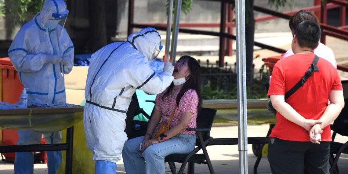 Rebrote de coronavirus en Pekín.