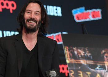 Subastan cita con Keanu Reeves