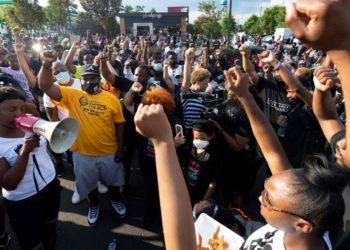 Manifestaciones en Atlanta tras muerte de Rayshard Brooks