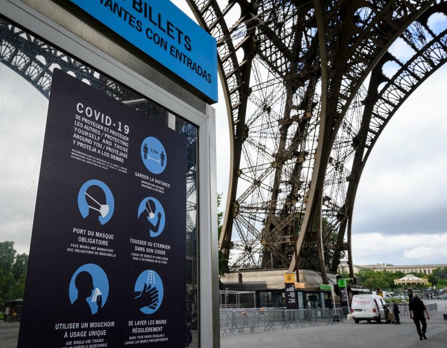 Reapertura Torre Eiffel