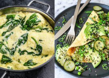 Omelette: una comida sana