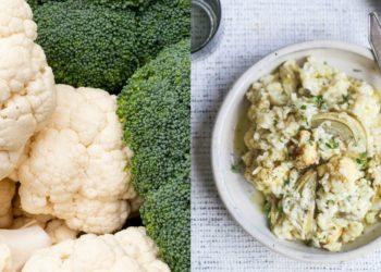 Receta de risotto: risotto de coliflor
