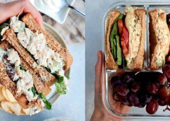 Receta de sandwich con pollo y atún