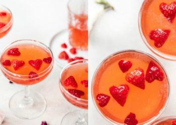 Receta de vodka de fresa y vainilla