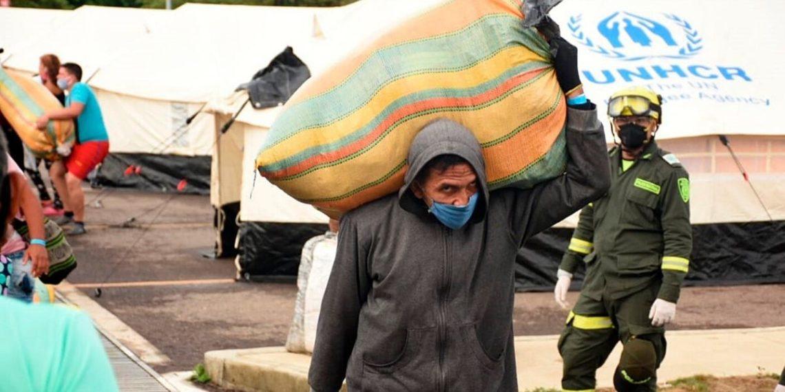 Acnur covid-19 refugiados venezolanos