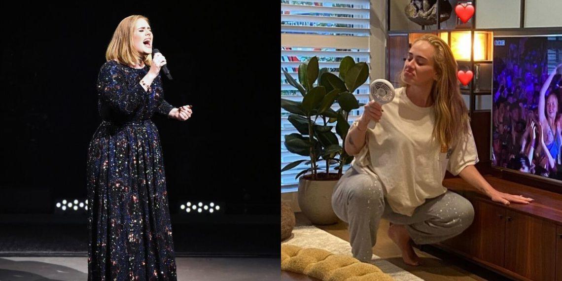 Adele volvió a usar viejo vestido