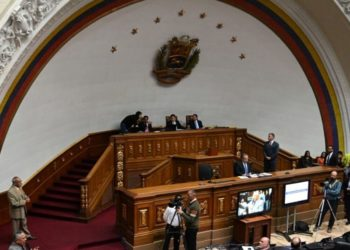 Nicolás Maduro retomó el control de la Asamblea Nacional de Venezuela. Foto: AFP