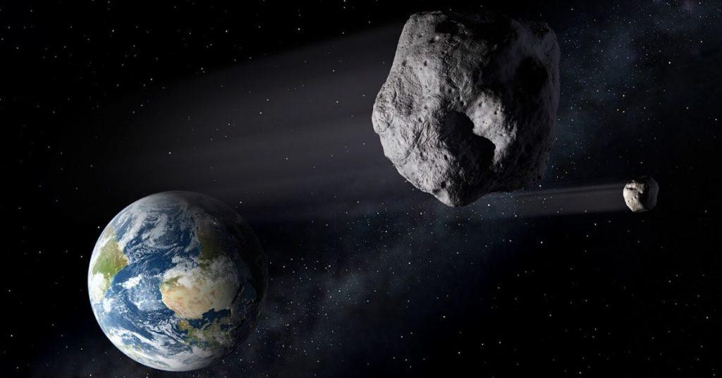 un asteroide