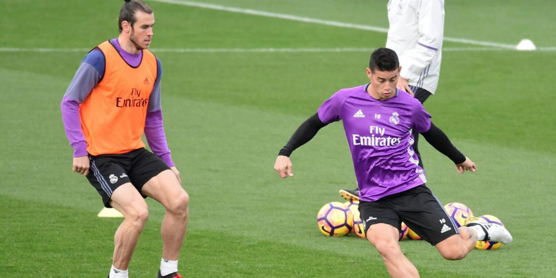 Bale y James podrían salir del equipo