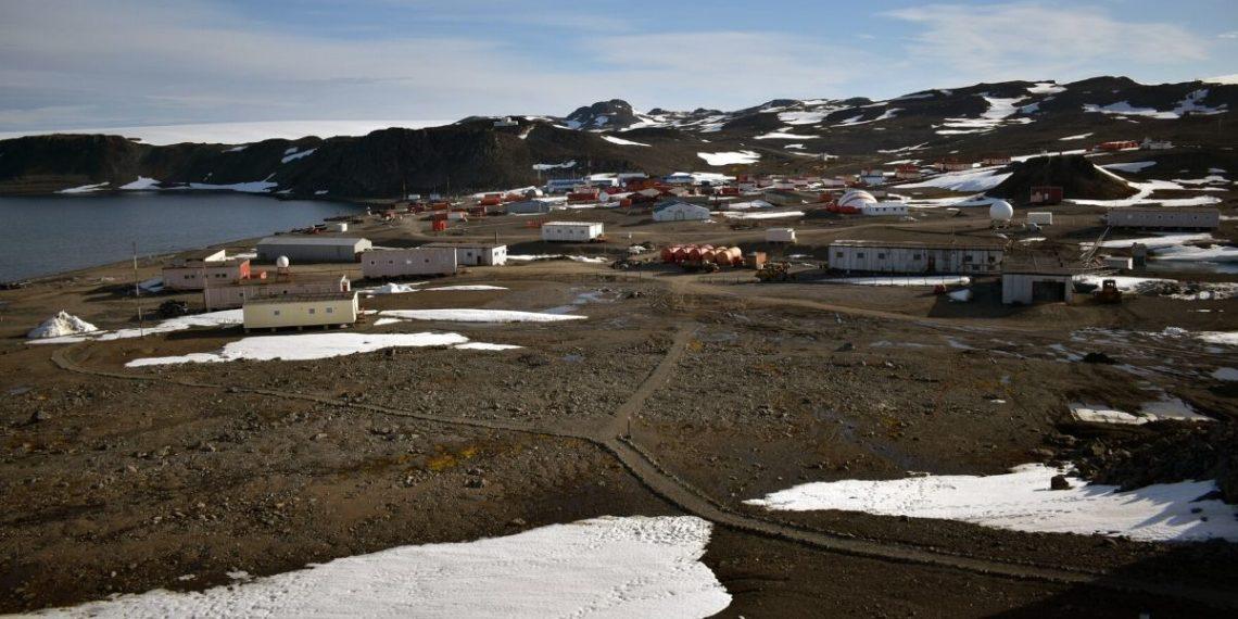 Calentamiento Polo Sur