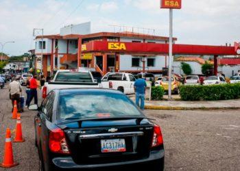 colas gasolina venezuela