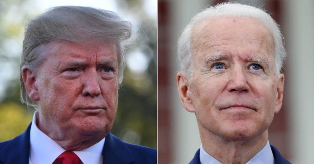 las campañas de Trump y Biden