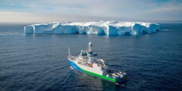 aire en la Antártida