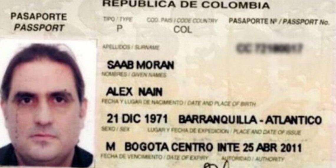El empresario colombiano Alex Saab
