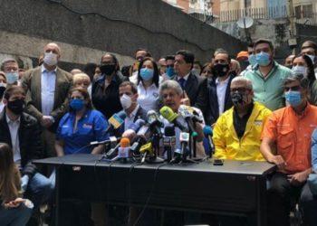 Juan Guaidó opositores