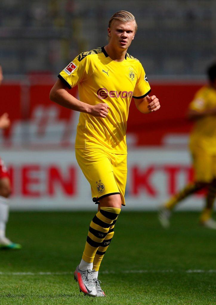 Haaland figura en el Golden Boy 2020