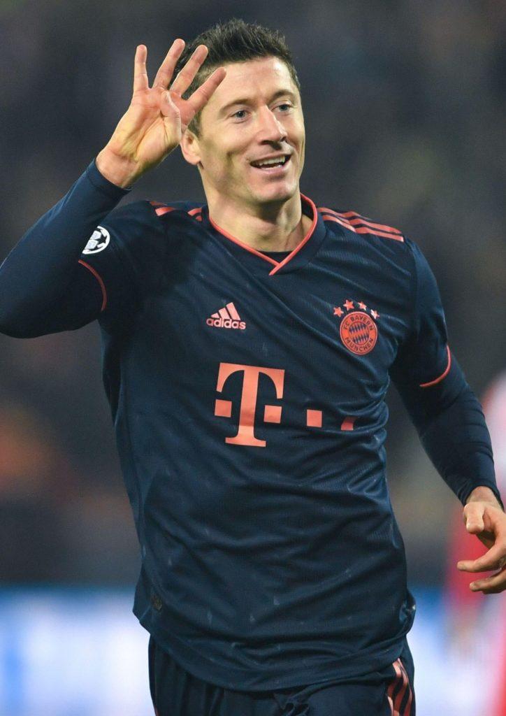 Lewandowski es el goleador de la Bundesliga