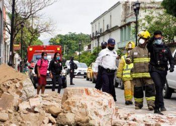 Réplicas del terremoto en México
