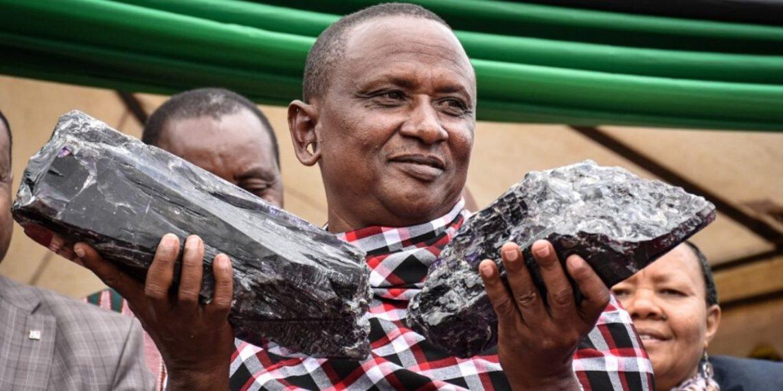 Minero en Tanzania