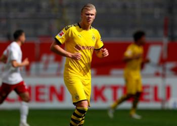 La estadía de Haaland en el Dortmund ha sido positiva